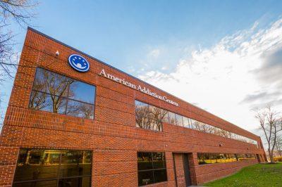 american addiction center corporate office building